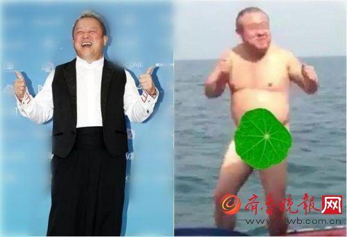 曝曾志伟不雅照酒后海边全裸跳舞 他儿子看后竟然这么说!