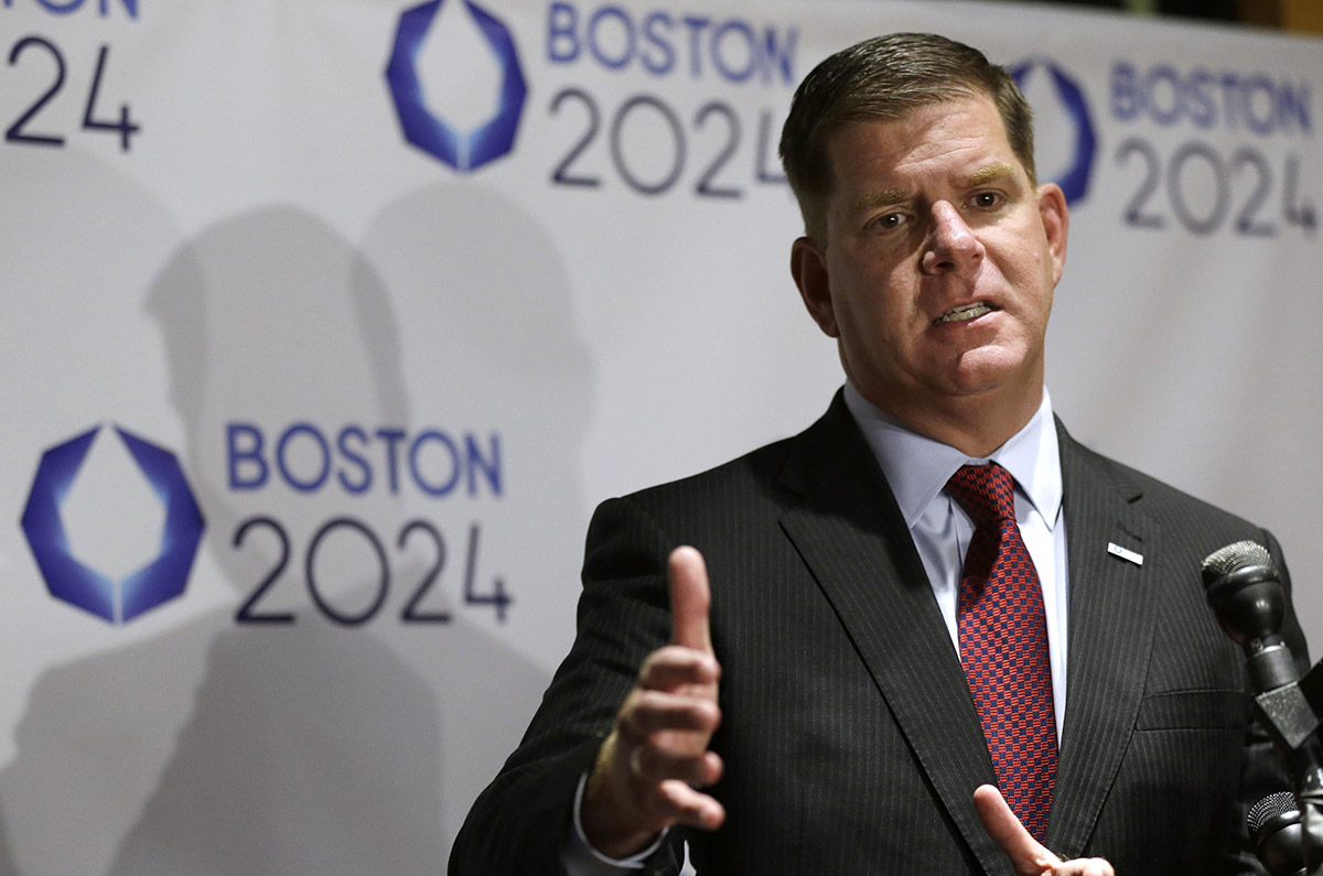 波士顿市市长马蒂·沃尔什