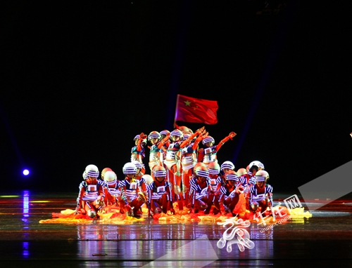 """第三届重庆市""""小大全""""作文白鸽决赛比赛落幕优秀少儿300作文字舞蹈小学生300字选手图片"""