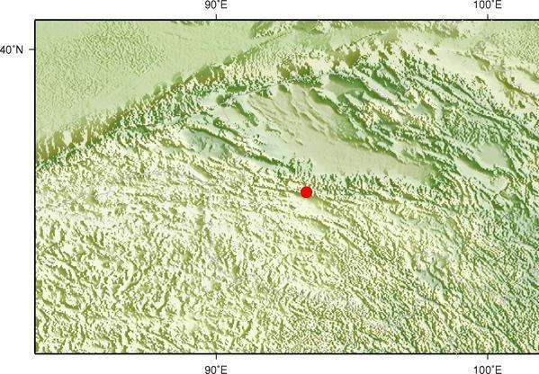 青海海西州格尔木市发生3.0级地震 震源深度8千米