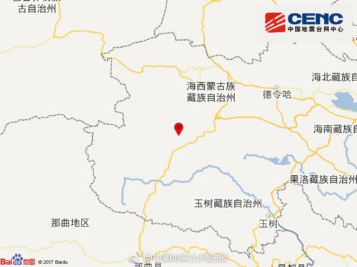 青海格尔木发生3.0级地震 暂未收到伤亡报告