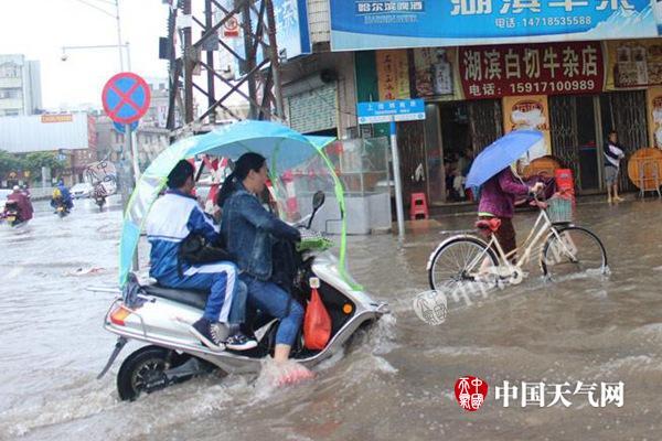 广东西南部昨现入汛来最强降雨 广州等地今遭暴雨