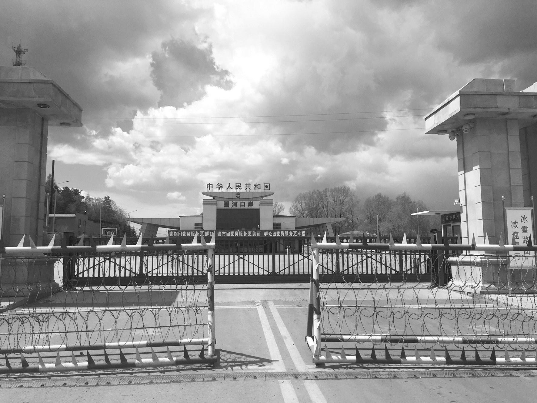 圈河口岸25 日暂时关闭。刘欣摄