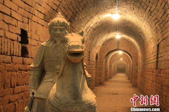 雄县境内的宋辽边关地道 图片来源于网络 摄