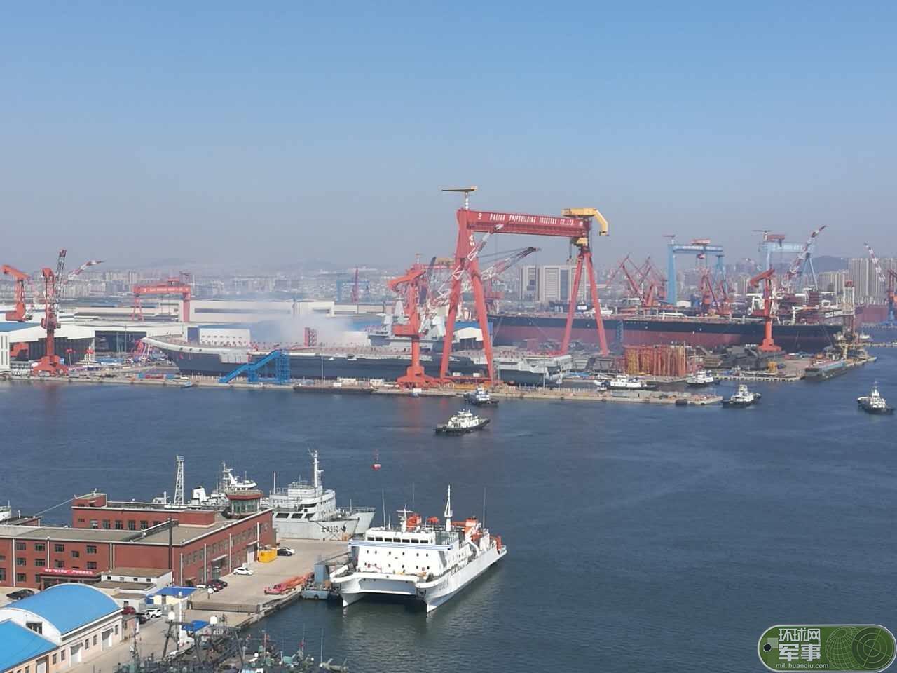 圣皇传奇中国航母下水令日本羡慕嫉妒恨:日本80年前造了