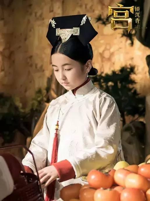 在《宫锁沉香》中挑战古装扮相,演绎最纯情小宫女.