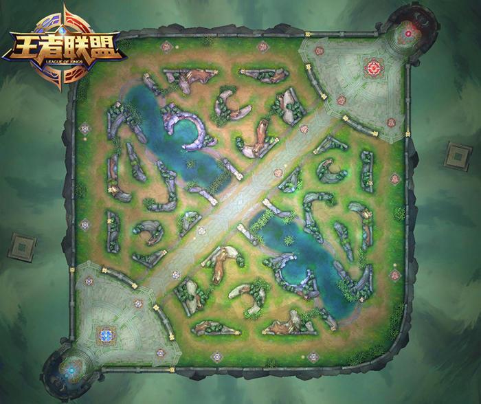 《王者荣耀》的地图基本就是 LOL 地图