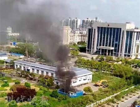 网传盐城水厂发生爆炸工人被炸飞?警方:谣言!