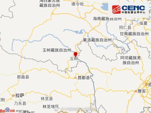 青海玉树发生3.1级地震 震源深度11千米(图)