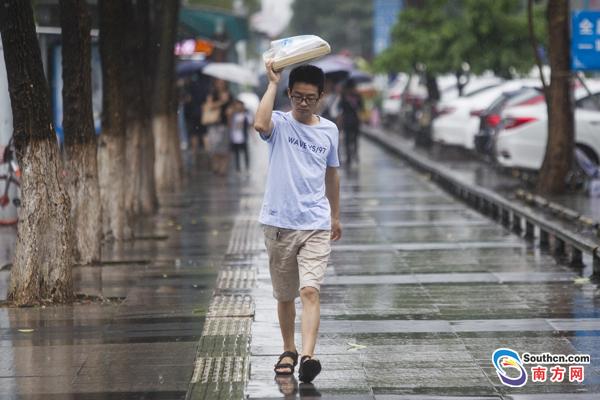 东莞分镇暴雨黄色预警扩展至全市