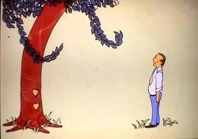 小孩爬树简笔画