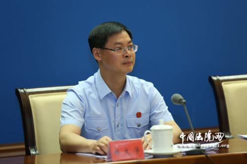 最高人民法院新闻发言人林文学 图片来源:中国法院网