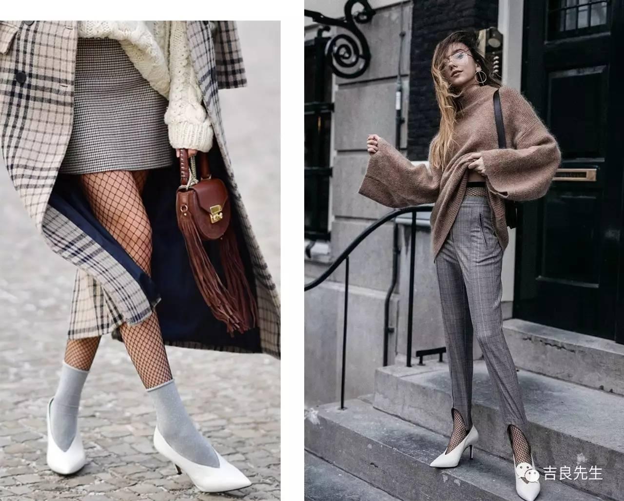网袜这货到底是怎么红起来的?备受争议icon级时尚单品 风格偶像 图36