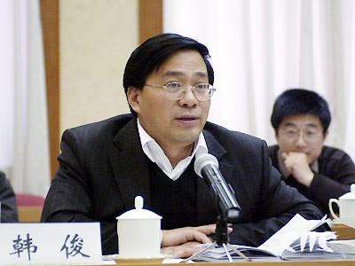 韩俊任中央农办主任 农办掌门 一年内两度易人
