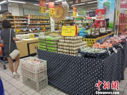 资料图:市民正在超市购物。中新网记者 李金磊 摄