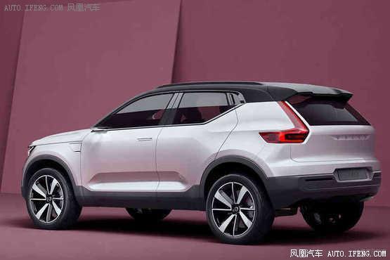 沃尔沃全新车型XC20 曝光预明年亮相