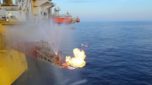 我国海域天然气水合物试采成功。图片来自中国地质调查局网站