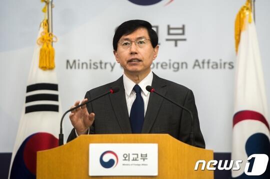 韩国外交部发言人赵俊赫