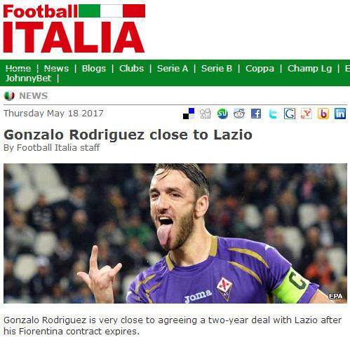 米兰双雄被截胡,佛罗伦萨队长接近加盟拉齐奥