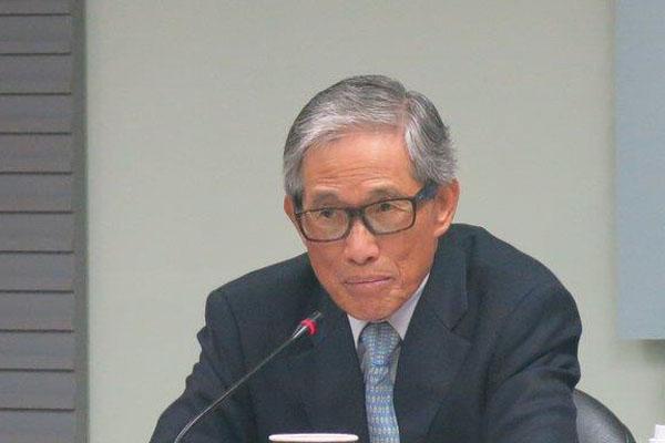 台湾当局前涉外部门负责人欧鸿炼(图片来源:中评社)