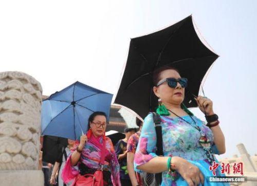 高温覆盖中国49.5万平方公里 15气象站刷新历史极值