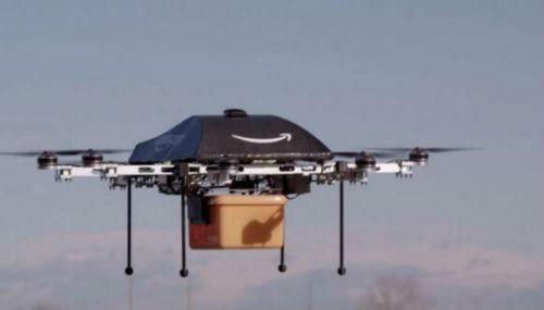 亚马逊在巴黎推出30分钟无人机送货服务
