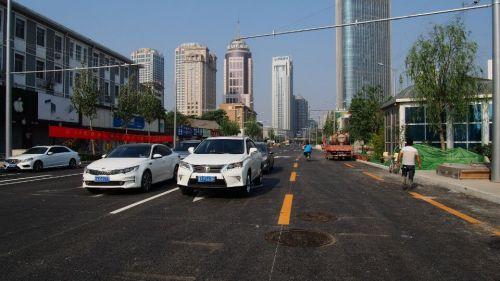 济南:改造工期一拖再拖,难产的共青团路终于通车