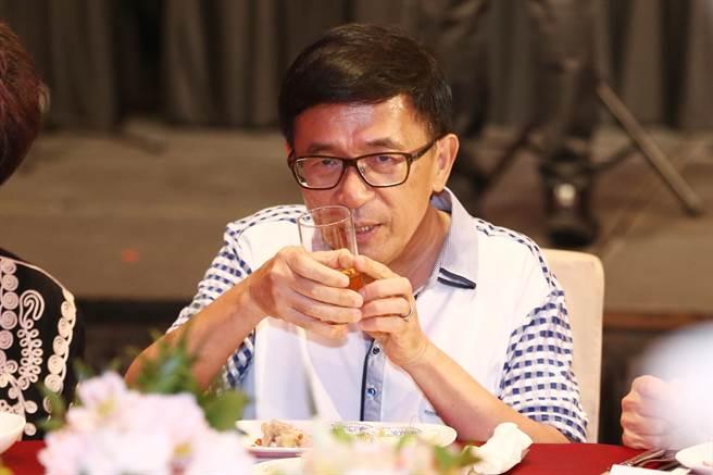 """台湾地区前领导人陈水扁(图片来源:""""中时电子报"""")"""