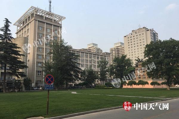 21日清晨,北京天气晴朗。