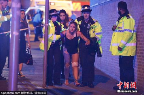 曼彻斯特演唱会后发生爆炸 美歌手:感到心碎