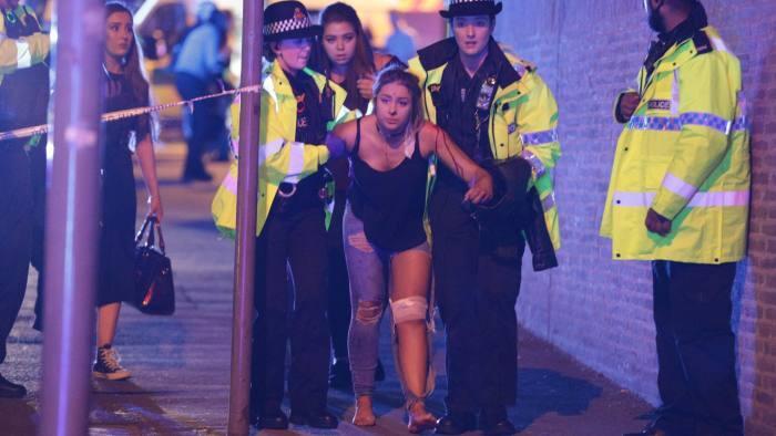 英媒:曼彻斯特爆炸事件令人联想到巴黎恐袭案