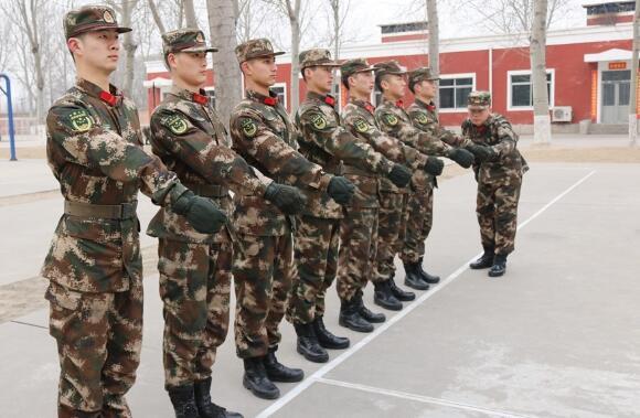 武警北京总队十七支队训练资料图