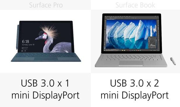 Surface Pro(2017)和Surface Book同门规格参数对比的照片 - 17