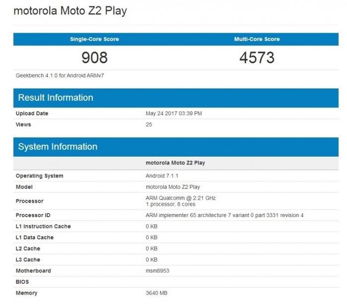 联想Moto Z2 Play确定6月1日发布:4200元/骁龙625的照片 - 3