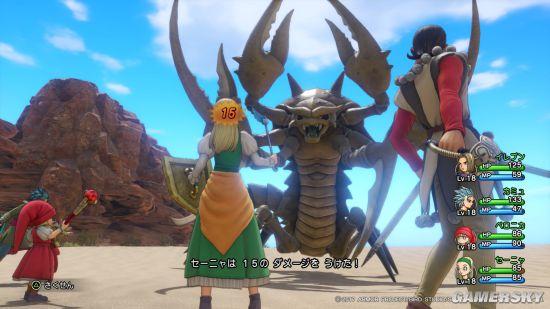 《勇者斗恶龙11》高清截图 PS4版画面惊艳