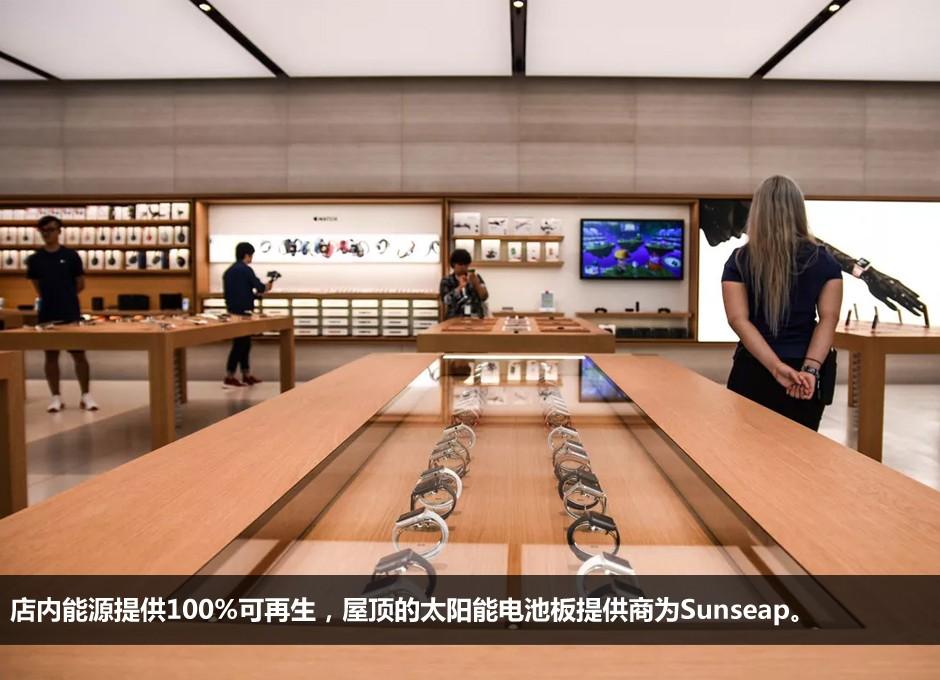 新加坡首家苹果旗舰店室内景风景大图