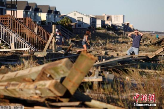 美飓风季开始或将有5至9场飓风 气象局吁做好防备