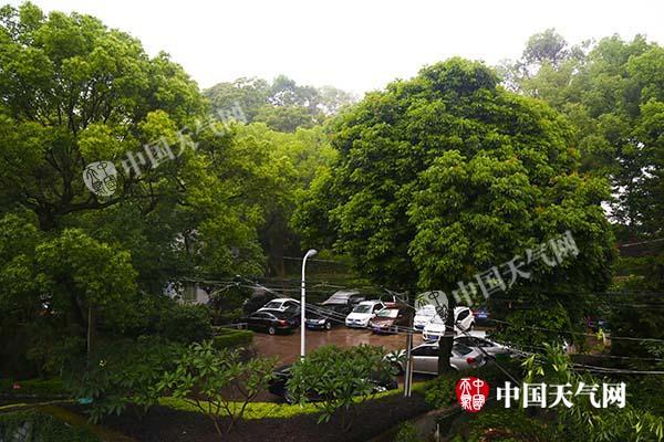 福建迎今年以来最强雨 明天南部局地仍有大暴雨