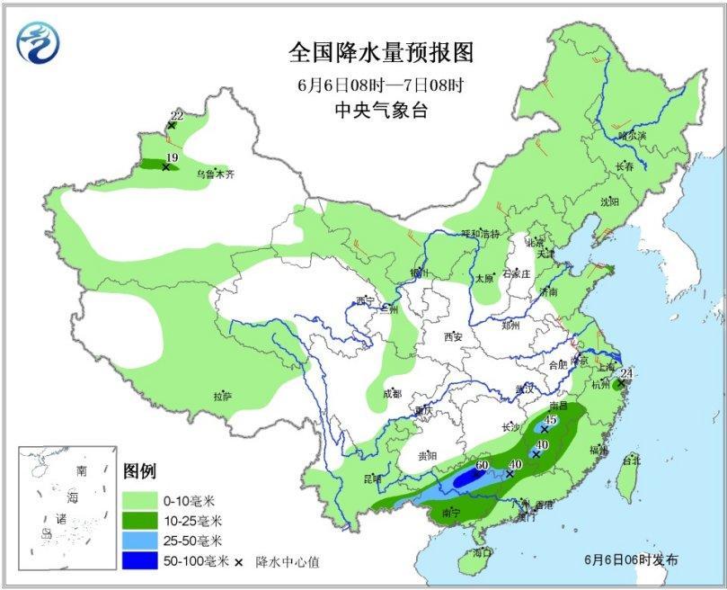 广西江西等地局部有雷暴大风或冰雹 福建广东短时降雨