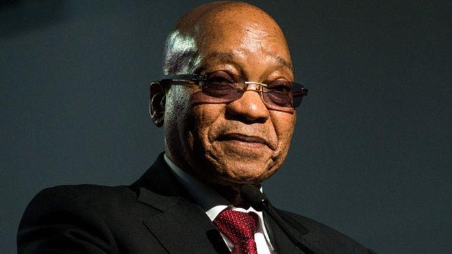 南非总统祖马(Jacob Zuma)
