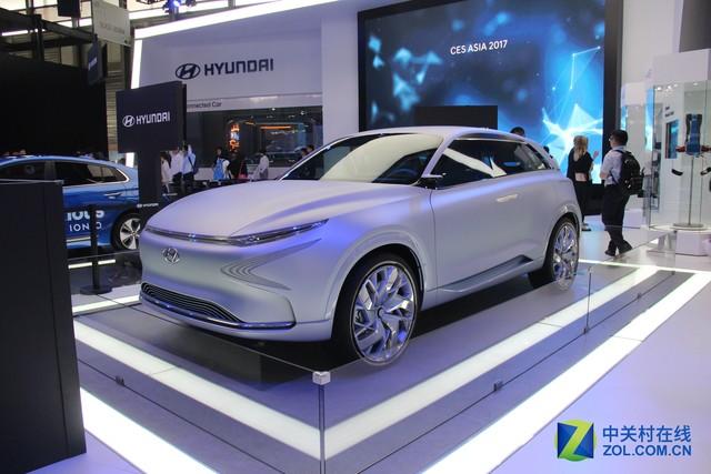 现代FE氢燃料概念车