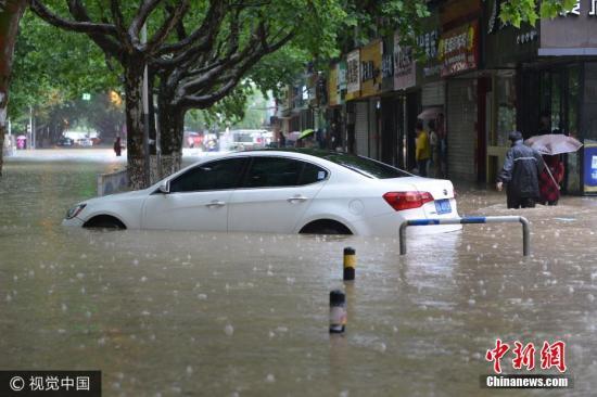 江南北部等地有较强降雨 台风苗柏影响南海和华南