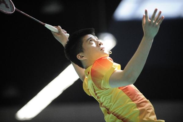 左手大力扣杀是傅海峰的重要武器。图片来源:视觉中国
