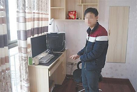 嫌疑人指认作案工具垫江警方供图