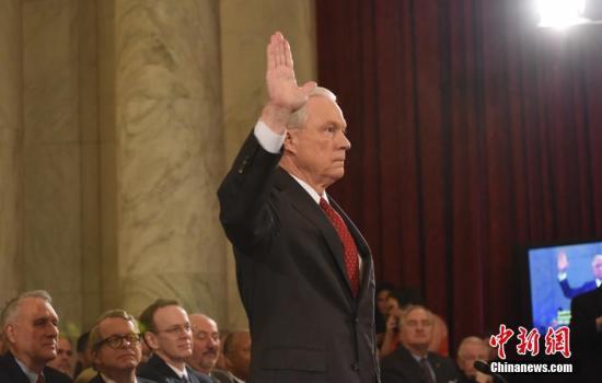 当地时间1月10日,美国候任司法部长杰夫<span class=