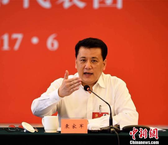 浙江代省长袁家军:上下同欲为中国发展提供浙江样板