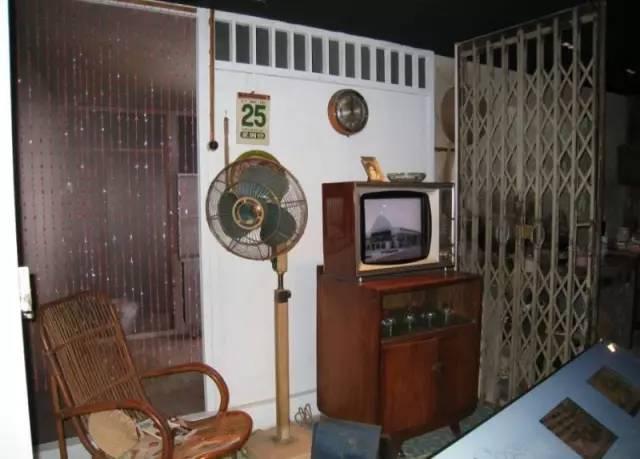 新加坡70年代客厅陈列