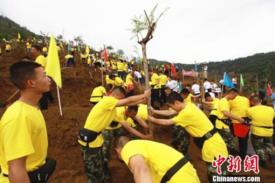 世界防治荒漠化和干旱日 四川举行大规模植绿惠民行动