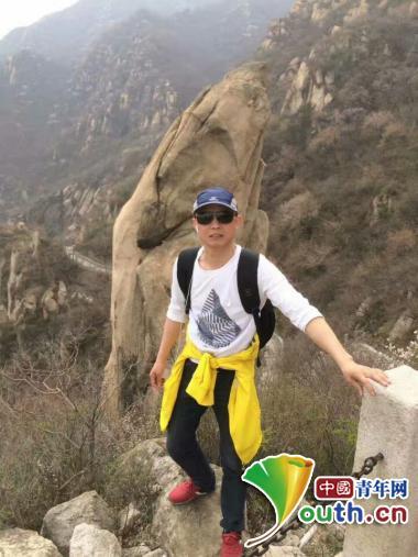 吴富钟生活照。图片由本人提供