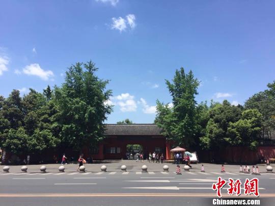 成都南郊公园一景。 刘婷 摄